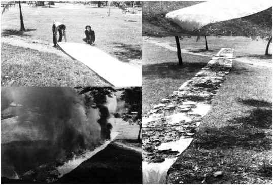 Luiz Alphonsus Guimarães, Napalm, 1970, photograph. Courtesy the artist