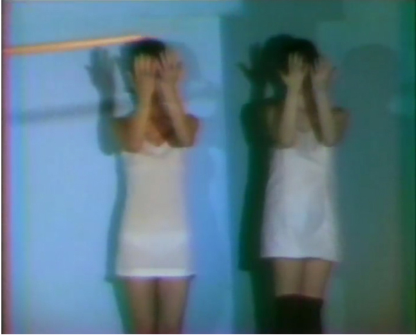 Joan Jonas, Glass Puzzle, 1973, video, 18min. still. Camera: Babette Mangolte