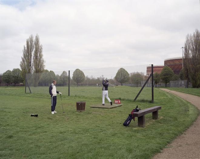 Golfers, Hackney Marshes